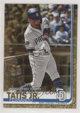 2019 Topps Update Series - [Base] - Gold #US56 - Rookie Debut - Fernando Tatis Jr. /2019