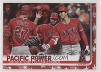Veteran Combos - Pacific Power (Ohtani & Trout Celebrate Homer) /76