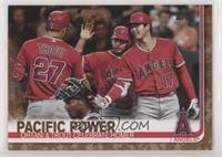 Veteran Combos - Pacific Power (Ohtani & Trout Celebrate Homer) #/25