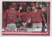 Veteran Combos - Pacific Power (Ohtani & Trout Celebrate Homer) #/50