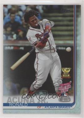 2019 Topps Update Series - [Base] - Rainbow Foil #US271 - Home Run Derby - Ronald Acuña Jr.