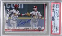 Lane Thomas (With Marcell Ozuna) [PSA 10 GEM MT]
