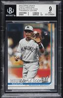 SP Photo Variation - Keston Hiura (Throwback Uniform) [BGS 9 MINT]
