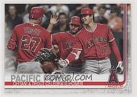 Veteran Combos - Pacific Power (Ohtani & Trout Celebrate Homer)