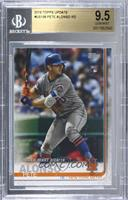 Rookie Debut - Pete Alonso [BGS9.5GEMMINT]