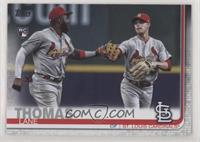 SSP Photo Variation - Lane Thomas (With Marcell Ozuna)