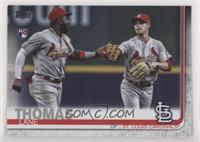 SSP Photo Variation - Lane Thomas (With Marcell Ozuna) [Noted]