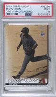 SP Photo Variation - Kevin Cron (Running on Infield Dirt) [PSA 9 MINT]