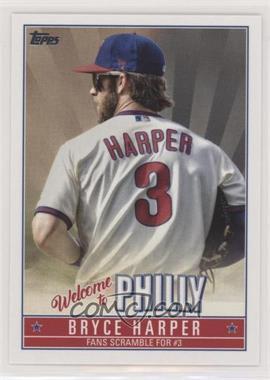 2019 Topps Update Series - Bryce Harper Player Highlights #BH-11 - Bryce Harper