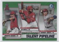 Jo Adell, Jahmai Jones, Jordyn Adams #/99