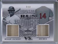Reggie Jackson, Jim Rice #/12
