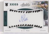 Rookie Baseball Material Signatures - A.J. Puk #/125