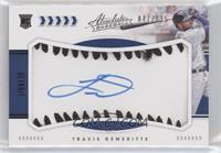 Rookie Baseball Material Signatures - Travis Demeritte #/125