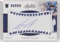 Rookie Baseball Material Signatures - Tyrone Taylor #/99