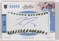 Rookie Baseball Material Signatures - Isan Diaz #/5