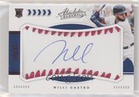Rookie Baseball Material Signatures - Willi Castro #/75