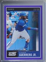 Vladimir Guerrero Jr. [Noted] #/25