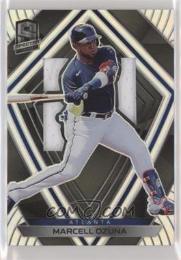 2020 Panini Chronicles - Spectra Silhouettes #42 - Marcell Ozuna