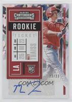 Rookie Ticket 2 - Matt Thaiss #/23