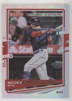 Mookie Betts (Blue Jersey) #/301