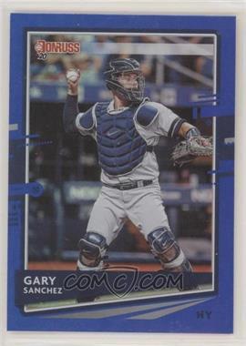 2020 Panini Donruss - [Base] - Holo Blue #74 - Gary Sanchez