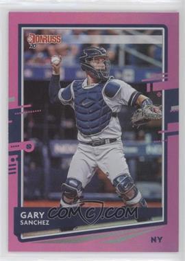 2020 Panini Donruss - [Base] - Holo Pink #74 - Gary Sanchez