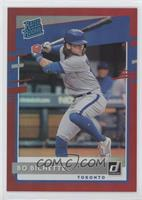 Rated Rookies - Bo Bichette