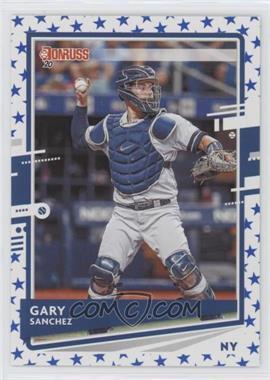 2020 Panini Donruss - [Base] - Independence Day #74 - Gary Sanchez