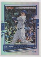 Back Variation - Anthony Rizzo (Chi-Town) #/250