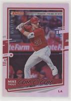 Back Variation - Mike Trout (City of Angels) #/110