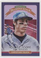 Diamond Kings - Christian Yelich #/328
