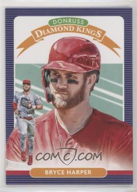 2020 Panini Donruss - [Base] #24 - Diamond Kings - Bryce Harper