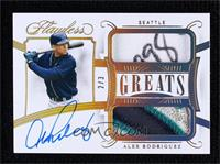 Alex Rodriguez [Noted] #/3
