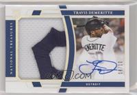 Rookie Material Signatures - Travis Demeritte #/10