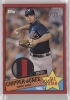 Chipper Jones #/25
