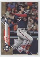 World Series Highlights - Juan Soto #/2,020