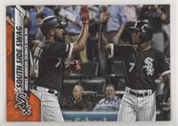 Checklist - South Side Swag (Jimenez, Anderson Celebrate Home Run) #/99
