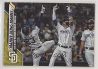 Checklist - Manny Being Manny (Tatis Jr. and Machado Celebrate Home Run)