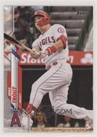 Base - Mike Trout (Batting) [Good to VG‑EX]