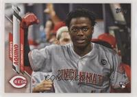 SP Photo Variation - Aristides Aquino (In Dugout)
