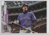 SP Photo Variation - Nolan Arenado (Purple Jersey)