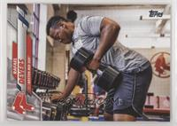 SP Photo Variation - Rafael Devers (Lifting Weights)
