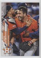 SP Photo Variation - Justin Verlander (Celebrating)