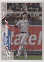 SP Photo Variation - Giancarlo Stanton (Gray Jersey, Looking Up)