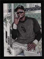 SP Photo Variation - Luis Robert (Wearing Sunglasses in Dugout)