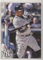 Base - Gary Sanchez (Batting)
