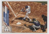 SP Photo Variation - Cody Bellinger (Action Shot from Above)
