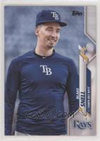 SP Photo Variation - Blake Snell (Navy Blue Warmup)