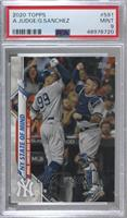 Checklist - NY State of Mind (Judge, Sanchez Rise Up During ALCS) [PSA9&n…