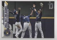 Checklist - Roll Out The Barrel (Brewers Outfield Celebrates)